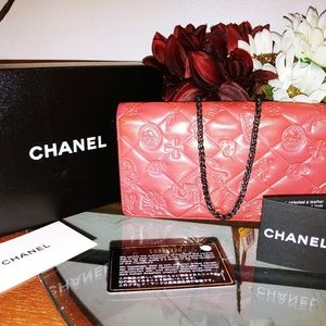 Chanel Iridescent Lucky Charms Wallet-Clutch